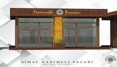 """Simav Belediyesinden  """"Hanımeli Pazarı"""" projesi"""