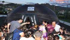 Tunceli Belediyesinden uzay çadırı