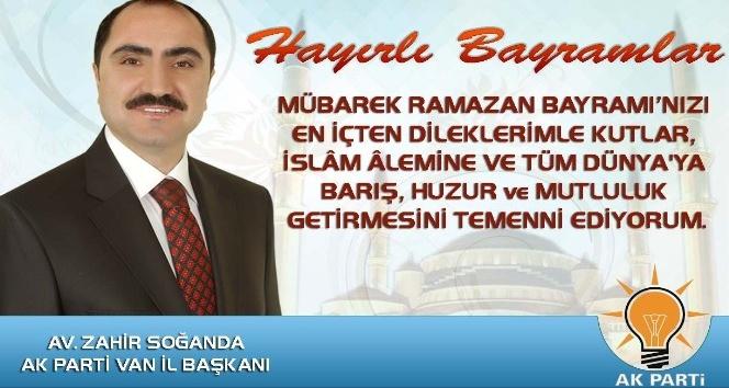 Başkan Soğandanın Ramazan Bayramı mesajı