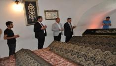 Vali Elbandan Şeyh Edebali Türbesine ziyaret