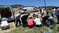 Kastamonuda trafik kazası: 1 ölü, 5 yaralı