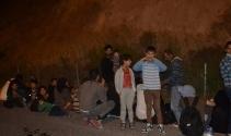 Kamyonet kasasında 47 kaçak göçmen yakalandı