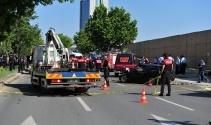 Ankarada feci kaza: 9u ağır 17 yaralı