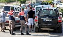 Samsunda 6 araç birbirine girdi: 9 yaralı