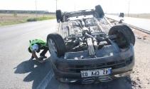 Bayram yolunda kaza: 6 yaralı
