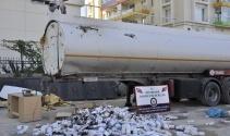 Diyarbakır'da 200 bin paket kaçak sigara ele geçirildi