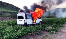 Erciş'te bombalı eylemde kullanılacağı tespit edilen araç imha edildi