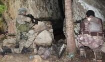 Giresun'da PKK sığınağı imha edildi