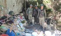 Giresunda PKK sığınağı imha edildi