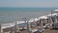 Batı Karadeniz sahilleri sabah saatlerinde boş kaldı