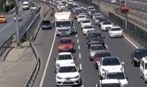 E-5 ve TEM'de bayram trafiği