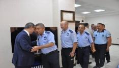 Başkan Uysal belediye personeli ile bayramlaştı