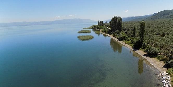 İznik Gölü'nün manzarası büyüledi