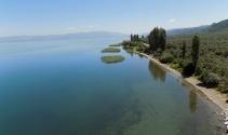 İznik Gölünün manzarası büyüledi