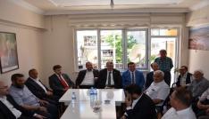 Bilecik AK Parti Milletvekili Eldemir Bozüyükte partililerle bayramlaştı