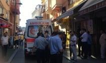 Fatih'te binanın son katı çöktü: 1 ölü