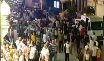 Taksimde insan seli