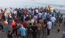 Bostancı sahilinde ayağı ağa takılan genç boğulma tehlikesi geçirdi