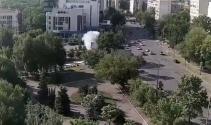 Ukraynada bombalı saldırı