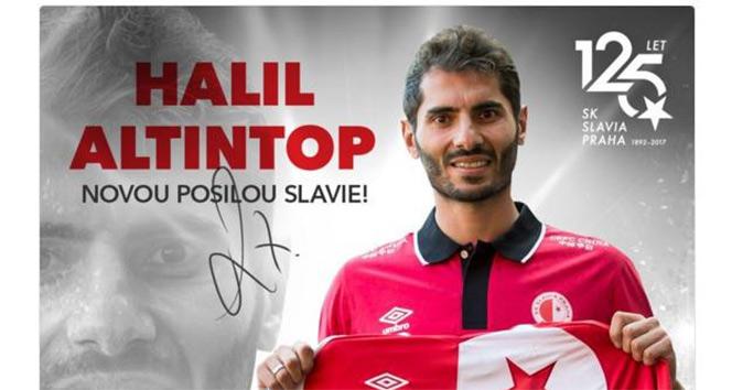 Halil Altıntop, Slavia Pragda