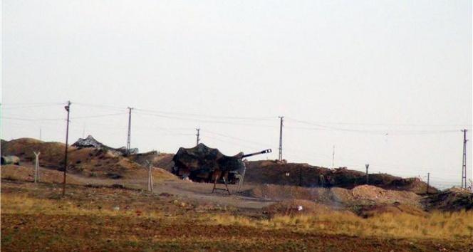 TSK Suriyedeki PYD mevzilerini vurdu