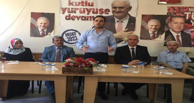 Milletvekili İshak Gazel: Kararlı yürüyüşümüz devam edecek