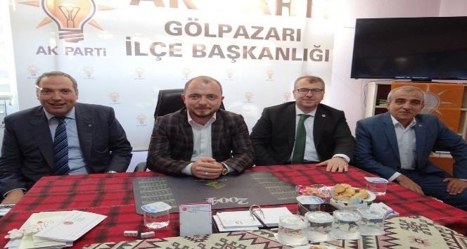 AK Parti heyetinden Gölpazarına çıkartma