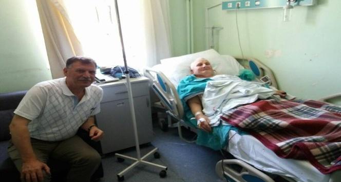Başkan Duymuştan hasta ziyareti
