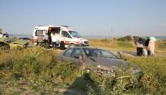 Düğün konvoyunda trafik kazası: 4 yaralı
