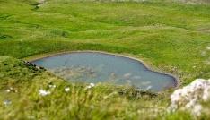 Gümüşhanenin ikinci göller bölgesi büyülüyor