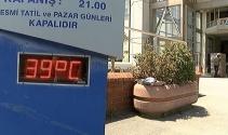 İstanbulda termometreler 39 dereceyi gösterdi