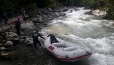 JAK Timleri Tunca Deresinde Nehiri aradı