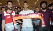 Galatasarayın yeni transferi Belhanda İstanbulda