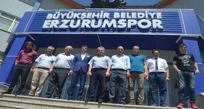 BB Erzurumspor'a hayırlı olsun ziyareti