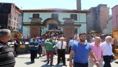 Rizede tarihi Orta Camide son cuma burukluğu