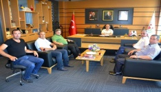 Servisçilerden Orala ziyaret