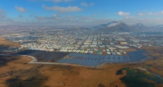 Kayseri OSB güneş tarlaları geleceği aydınlatıyor