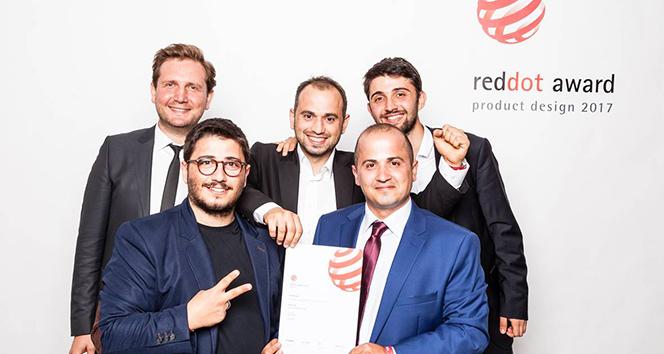 Üç kardeşin tasarladığı yerli üretim gimbala RedDot ödülü