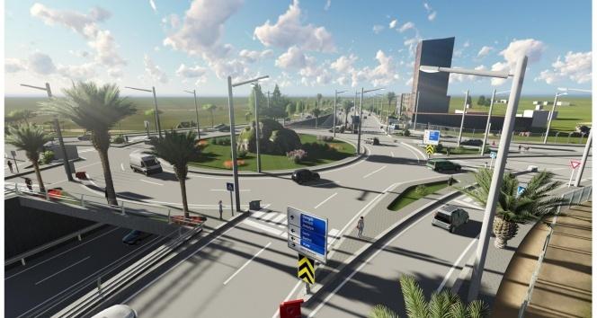 Alaşehirde trafiği rahatlatacak kavşak projesi başlıyor