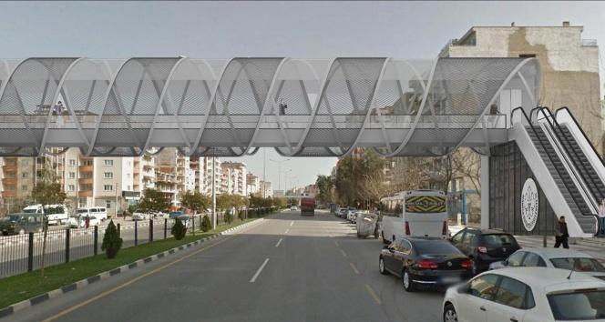 Mimar Sinanda ulaşım yayalar için daha güvenli olacak
