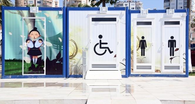 Mersin'de anneler ve engelliler için anlamlı hizmet