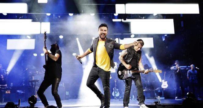 Tarkanın Harbiye konserlerini 1.2 milyon kişi takip etti