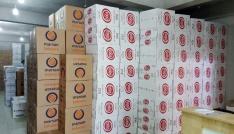 Yalovada 8 bin 46 paket kaçak sigara ele geçirildi