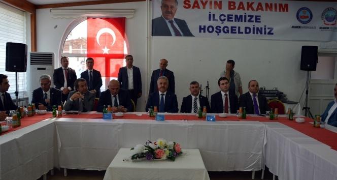 Bakan Arslan: Büyük projeler sadece İstanbul ve Ankarayı ilgilendirmiyor