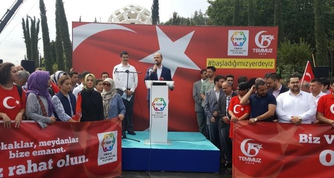 Bilal Erdoğan'dan 15 Temmuz açıklaması