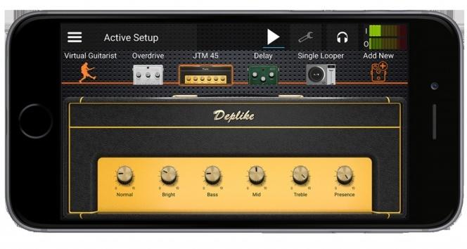 Cep telefonunu gitar amfisine dönüştüren uygulama 'Deplike'