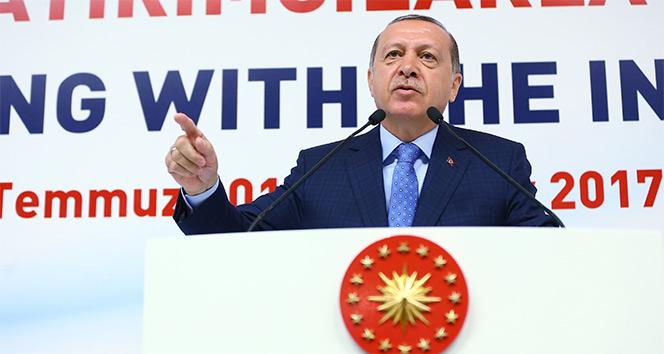 Cumhurbaşkanı Erdoğandan CHPye sert eleştiri!