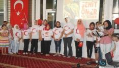 Kuran Kursu öğrencileri 15 Temmuzdaki birlik ve beraberlik ruhunu yaşadılar