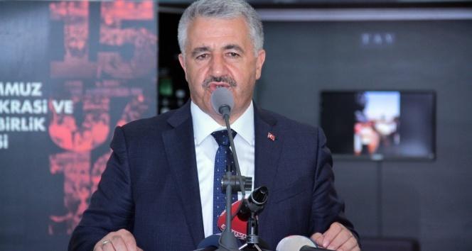 Bakan Arslan: Hainlerin hainliğini unutturmamamız lazım