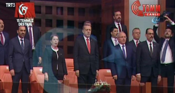 Cumhurbaşkanı Erdoğan Mecliste